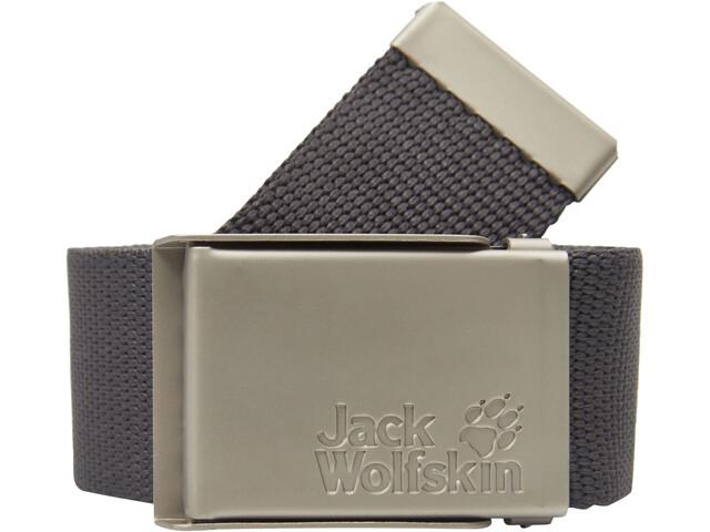 Jack Wolfskin Webbing Brede Riem, dark steel